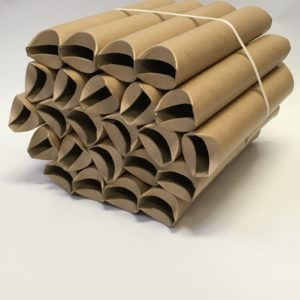 Next working day delivery 50 x A3 Postal Tubes 50.8mm x 330mm with plugs